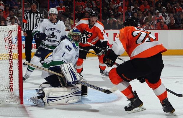 Vancouver Canucks vs. Philadelphia Flyers