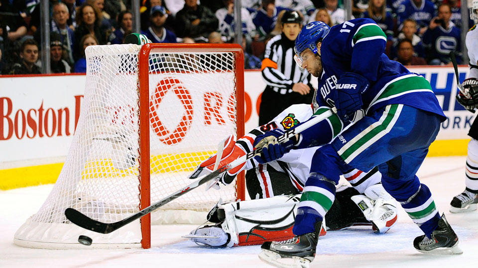 Shoot, score, win! (credit canucks.nhl.com)