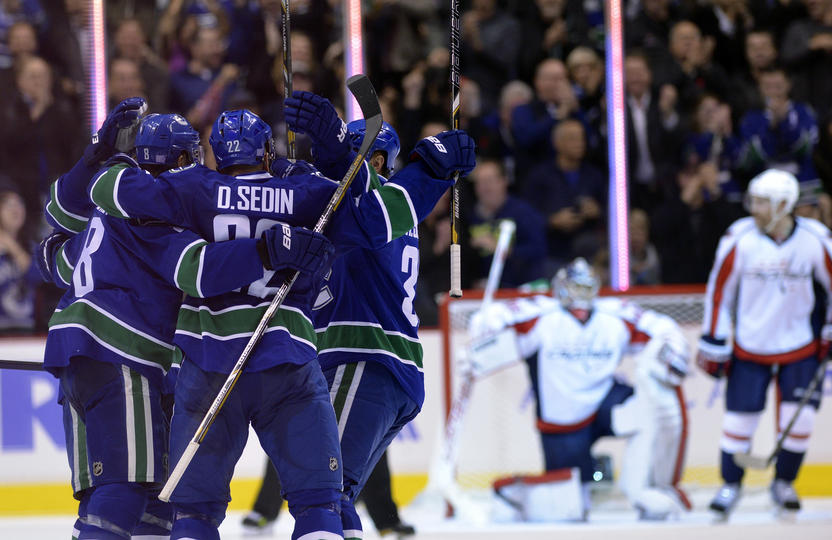 The Canucks have already met and beaten the Capitals once this season, can they do it again? (Photo Courtesy: canucks.nhl.com)