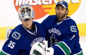 Cory Schneider and Roberto Luongo, Vancouver Canucks