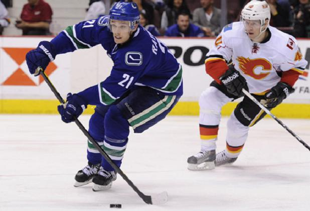 Mason Raymond, Vancouver Canucks