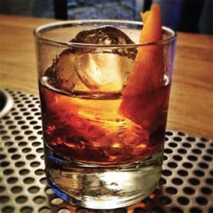 Vancouver Canucks-themed drink: No. 5 Garrison