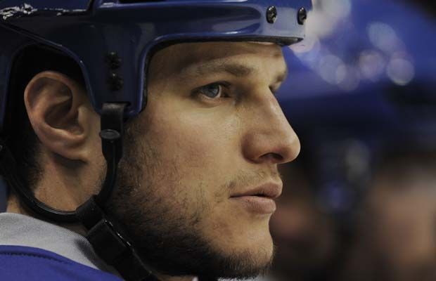 Kevin Bieksa, image care of the Vancouver Sun.