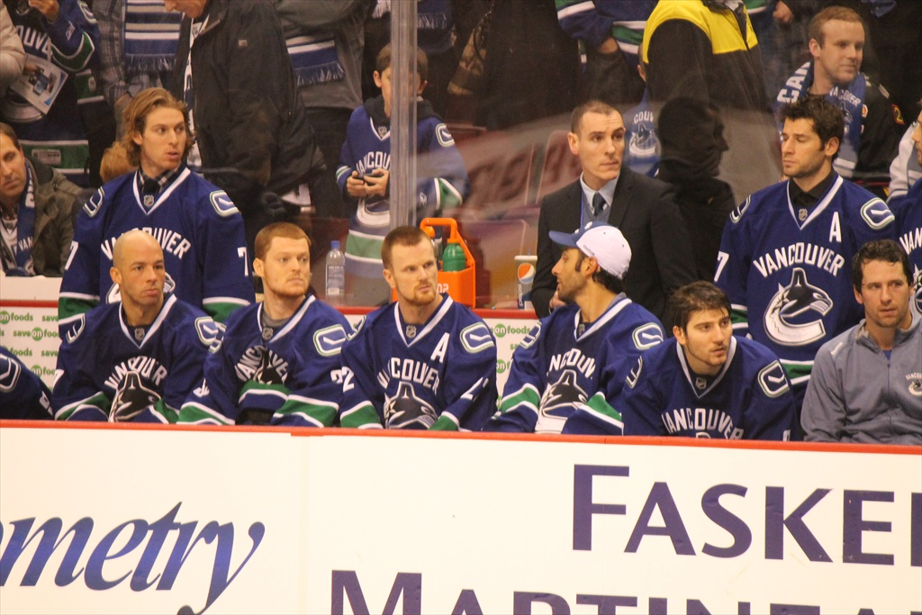 The Canucks waiting to give away their jerseys