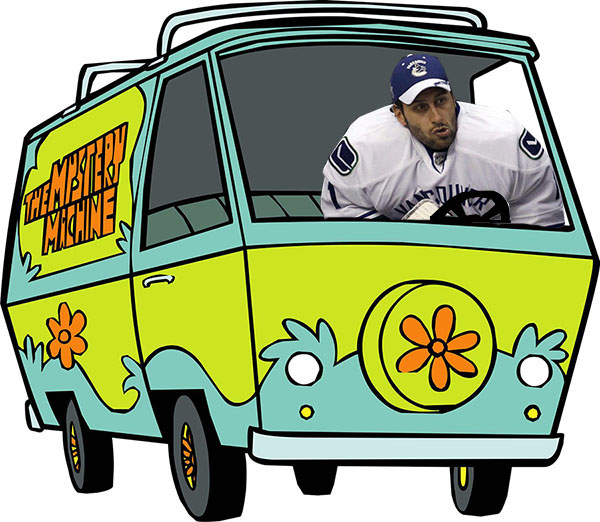 Luongo and the Mystery Machine